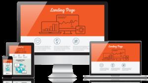 Создание Landing Page (лендинг пейдж) под ключ